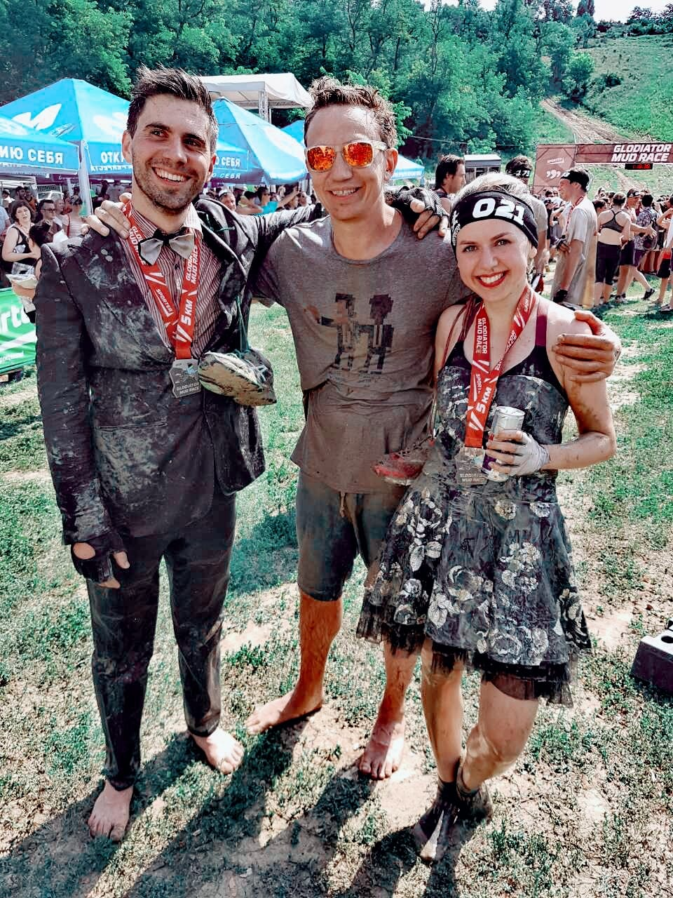 Opinion mud run orgies sorry
